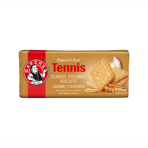 Bakers Tennis Caramel Flavored Biscuits (Kosher) 200g