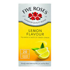 Five Roses Select Lemon Tea Bags (Pack of 20) 50g