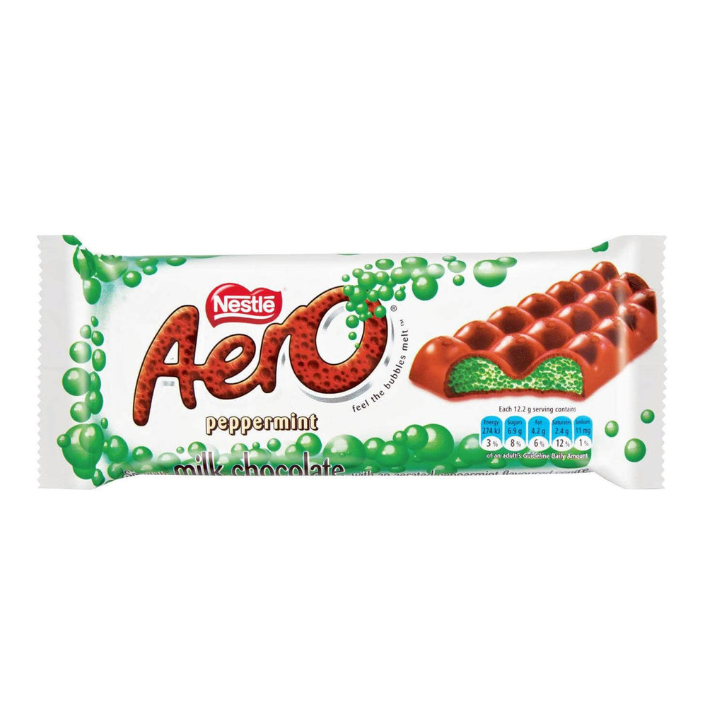 Nestle Aero - Mint Large Bar (Kosher) 85g