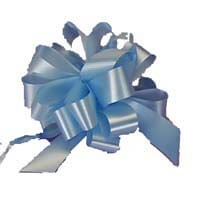 International Brands Bow - Light Blue - For your Gift Box 5g