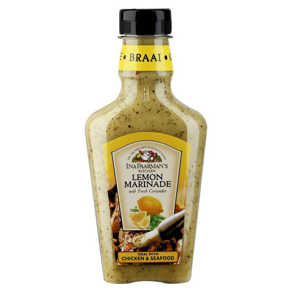 Ina Paarman Marinade - Lemon with Coriander 500ml