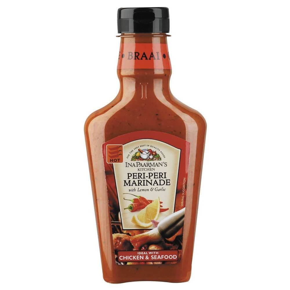 Ina Paarman Marinade - Peri Peri with Lemon and Garlic (Kosher) 500ml