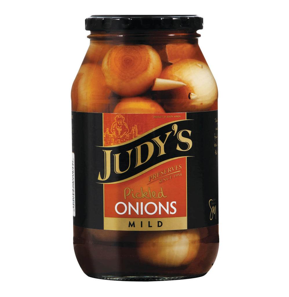 Judys Pickled Onions -Mild  410g
