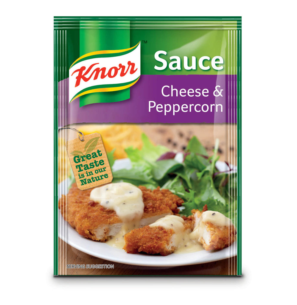 Knorr Sauce - Cheese and Peppercorn  38g