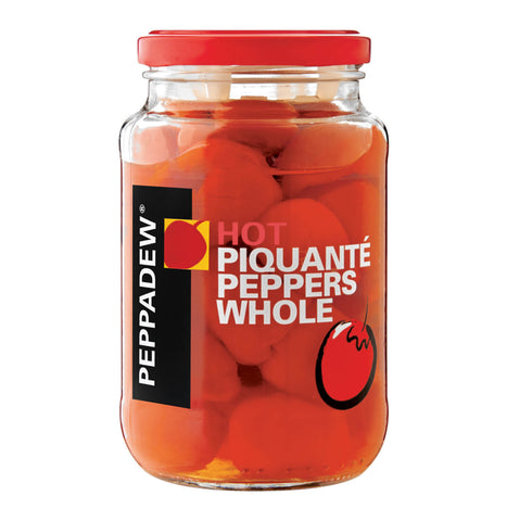 Peppadew Peppers - Hot Piquante Peppers Whole 400g