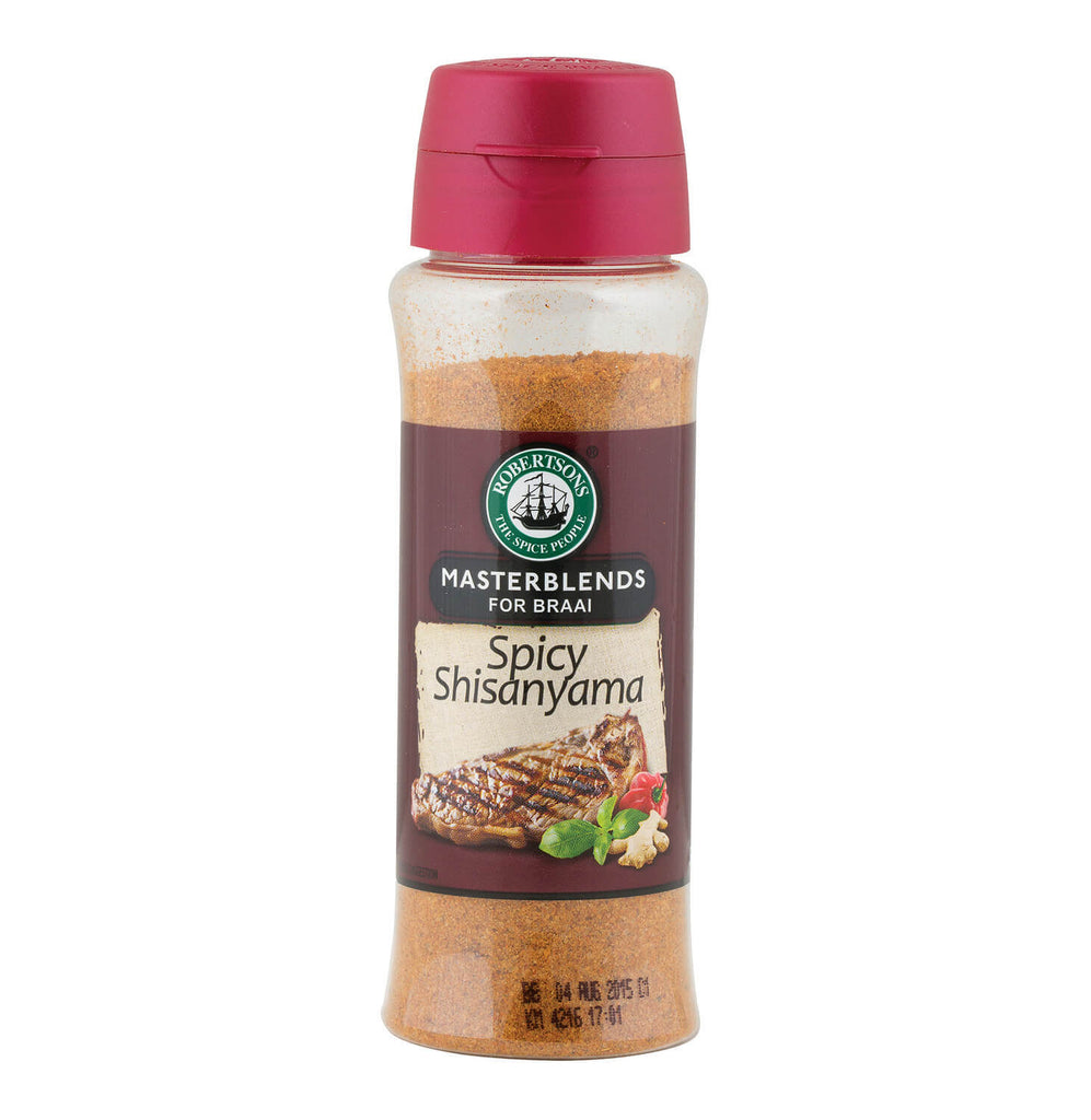 Robertsons Spice - Masterblends for Braais - Spicy Shisanyama (Kosher) 200ml