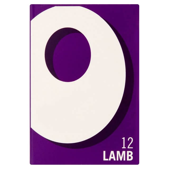 Oxo Stock Cubes - Lamb  (Pack of 12 Cubes) (LIMIT 1 PER ORDER) 71g