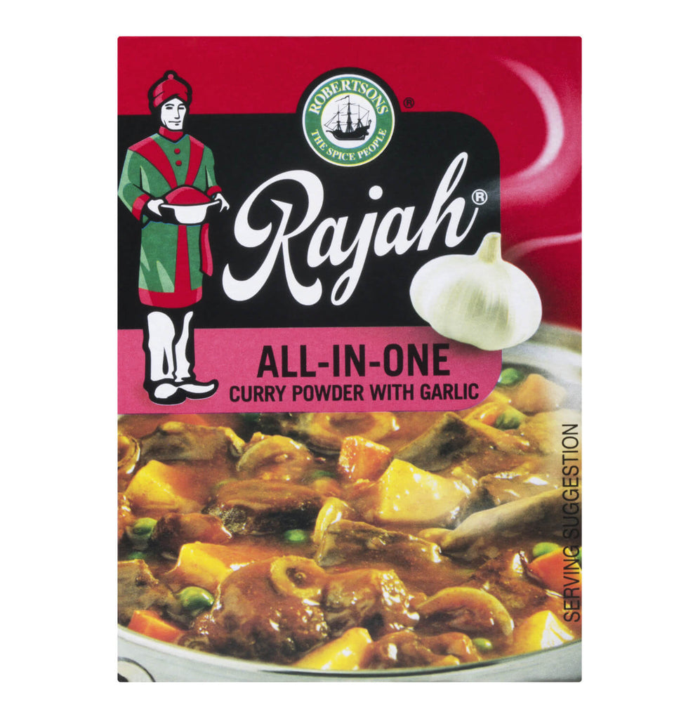 Robertsons Rajah Curry Powder - All in One Garlic Small Box 50g