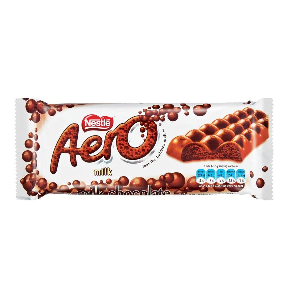 Nestle Aero - Milk Chocolate Large Bar (Kosher) 85g