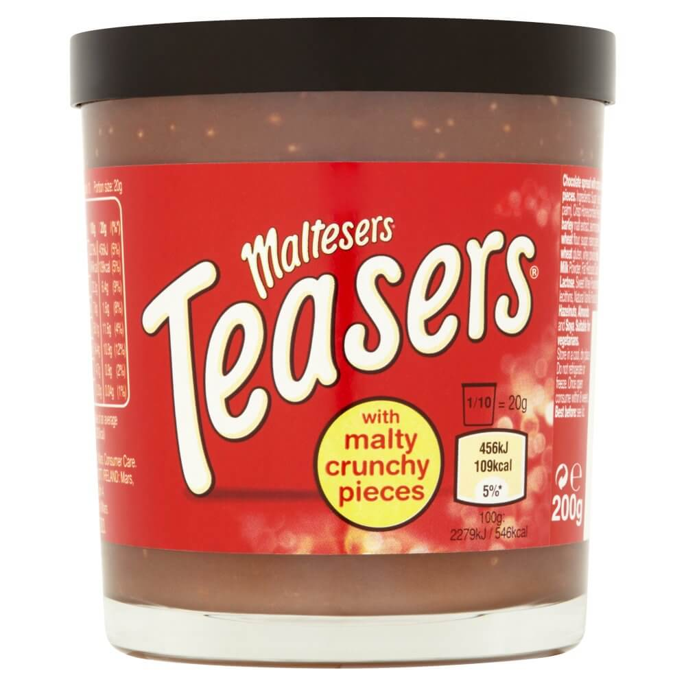 Mars Maltesers - Teasers Chocolate Spread 200g