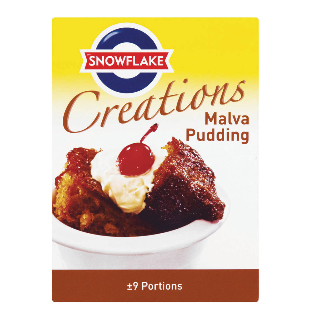 Snowflake Malva Hot Sponge Pudding Kit (9 Pudding Portions) 400g