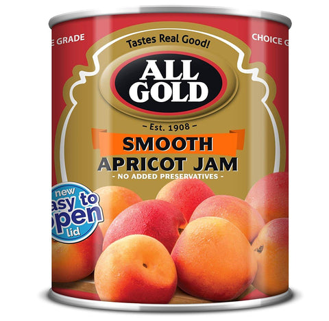 All Gold Jam - Smooth Apricot (Kosher) 450g - African Hut
