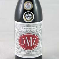 DeMorgenzon DMZ Wine - Syrah Stellenbosch 2014 750ml