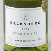 Backsberg Chardonnay Paarl (KOSHER) 2017 750ml