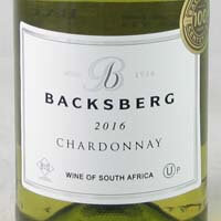 Backsberg Chardonnay Paarl (KOSHER) 2018 750ml