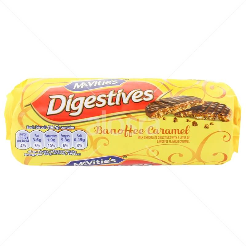 McVities Digestives - Banoffee Caramels 267g
