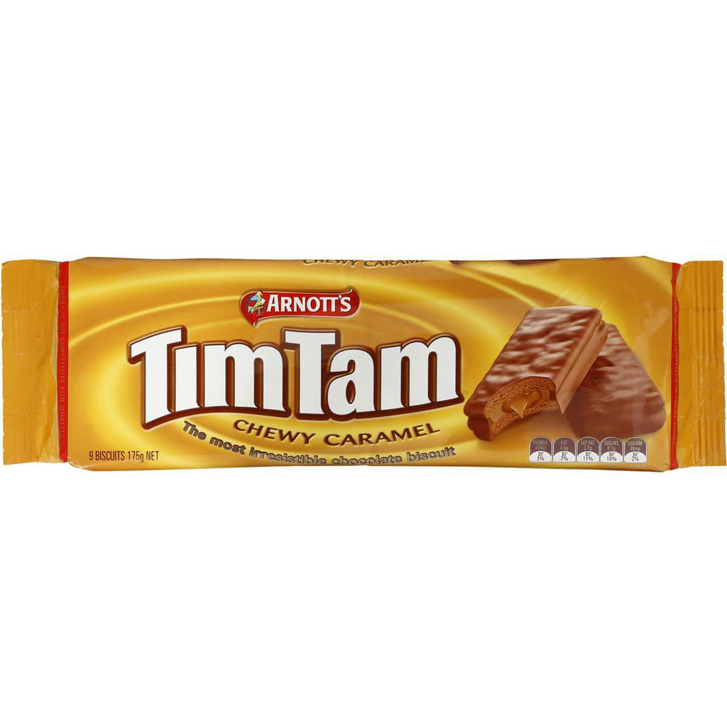 Arnotts TimTam - Chewy Caramel (Pack of 9 Biscuits) 175g