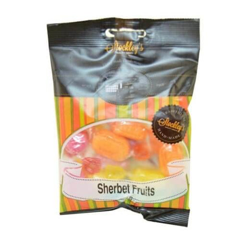 Stockleys Sweets - Sherbet Fruits 100g
