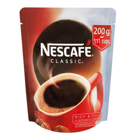 Nestle Nescafe Coffee - Classic Refill Pouch (Kosher) 200g