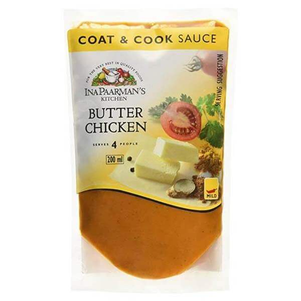 Ina Paarman Sauce - Butter Chicken Coat and Cook (Kosher) 200ml