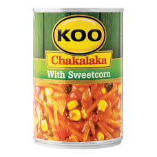 Koo Chakalaka - with Sweetcorn (Kosher) 410g - African Hut