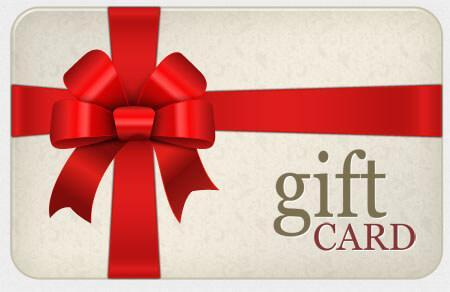 Physical Gift Card $25. Gift cards are mailed via postal service and can be redeemed online or instore. Add the recipients physical address and a message to your order at checkout 10g