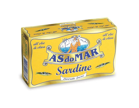 As Do Mar Sardines in Olive Oil 120g - African Hut