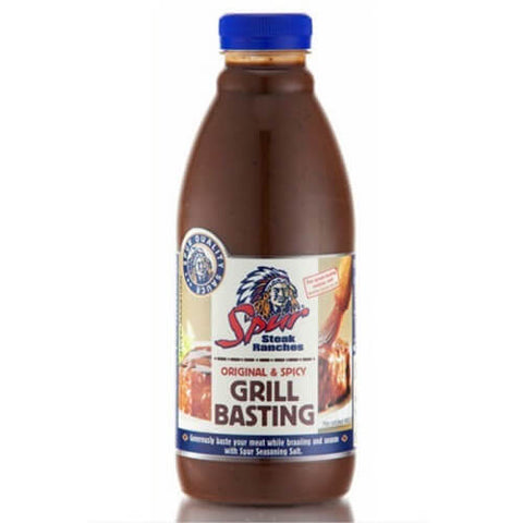 Spur Original and Spicy Grill Basting Sauce Original and Spicy (Kosher) 500ml