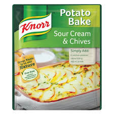 Knorr Sauce - Sour Cream and Chives Potato Bake 43g