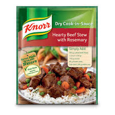 Knorr Sauce - Hearty Beef Stew with Rosemary 47g