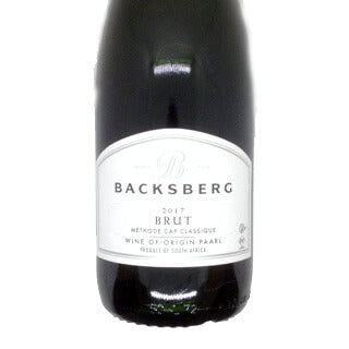 Backsberg Brut Methode Cap Classique 2017 (KOSHER 750ml