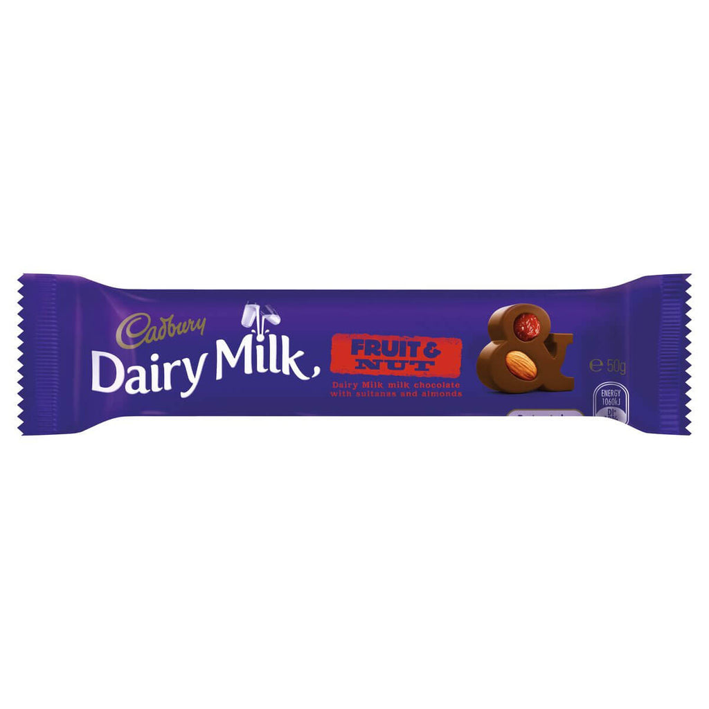 Cadbury Fruit and Nut Bar (Australia) 50g