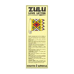 African Hut Zulu Love Letter Bookmark 25g - African Hut