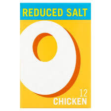 Oxo Chicken Reduced Salt Cubes (LIMIT 1 PER ORDER) (Item Contains 12 Cubes) 71g