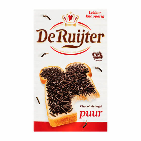 De Ruijter Dark Chocolate Sprinkles (HEAT SENSITIVE) 400g