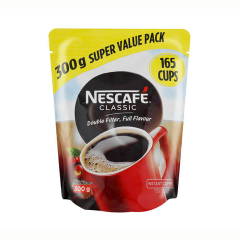 Nestle Nescafe Coffee - Classic Large Refill Pouch (Kosher) 300g