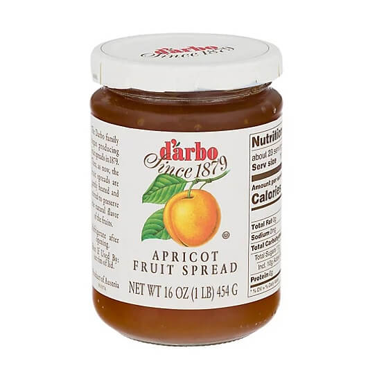 D Arbo Fruit Spread - Apricot 454g