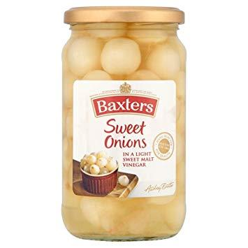 Baxters Sweet Pickled Onions 440g