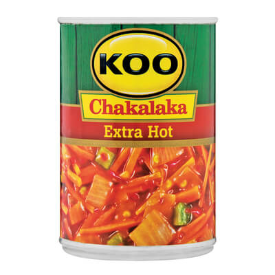 Koo Chakalaka - Extra Hot and Spicy (Kosher) 410g