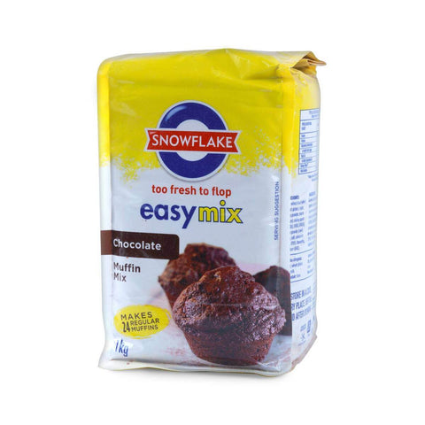 Snowflake Easymix - Chocolate Muffin Mix 1kg