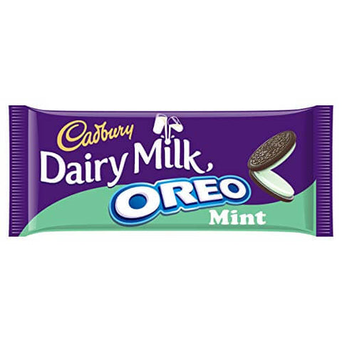 Cadbury Dairy Milk - Oreo Mint Chocolate Bar 120g