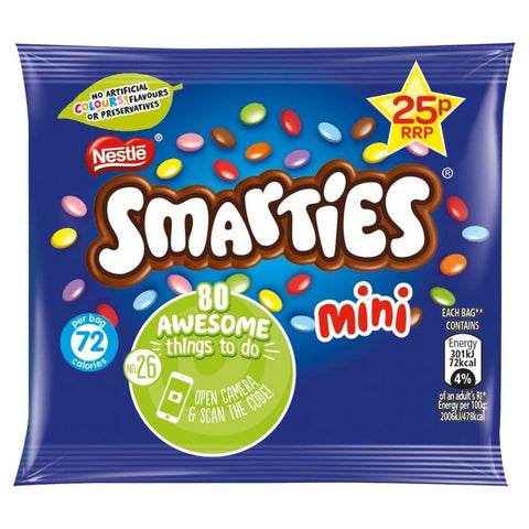 Nestle Smarties Minis Bag 15g