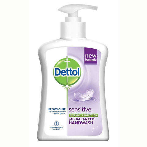 Dettol Liquid Handwash - Sensitive - Includes a Free Refill Pack 250ml