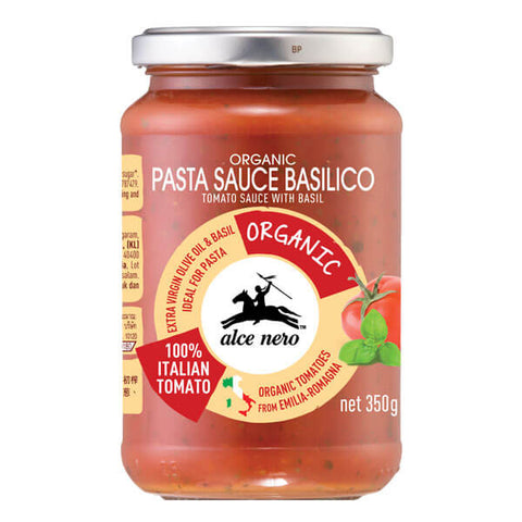 Alce Nero Organic Tomato Sauce with Basil 350g