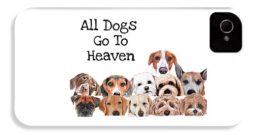 All Dogs Go To Heaven - Phone Case