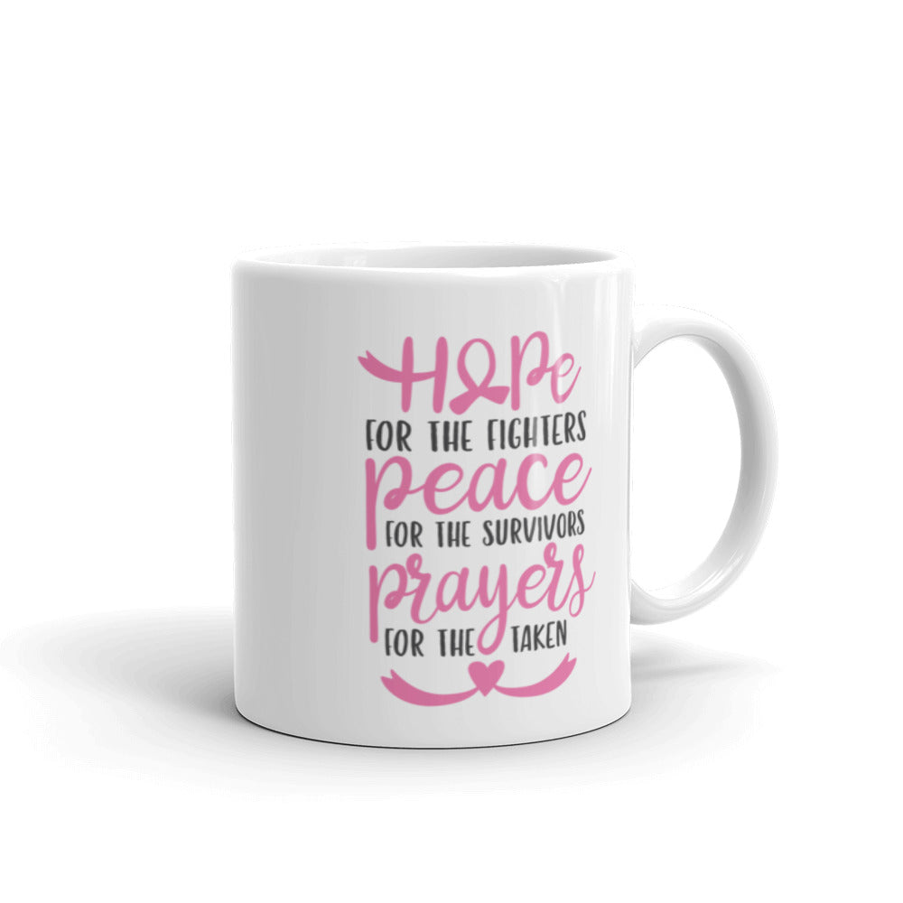 Hope For The Fighters Cancer Awareness Mug