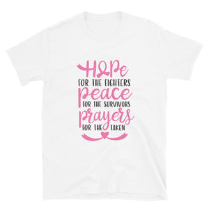 Hope For The Fighters Cancer Awareness Tee