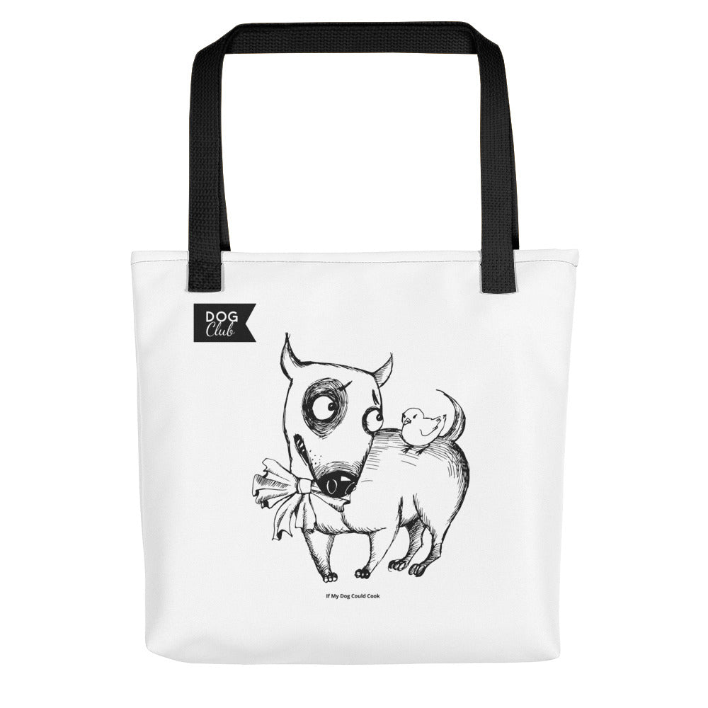 """Bullterrier Tote Bag"""