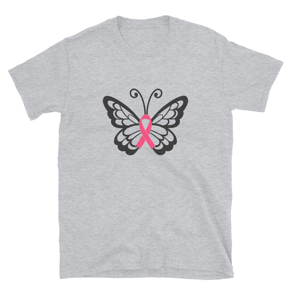 Butterfly Breast Cancer Tee