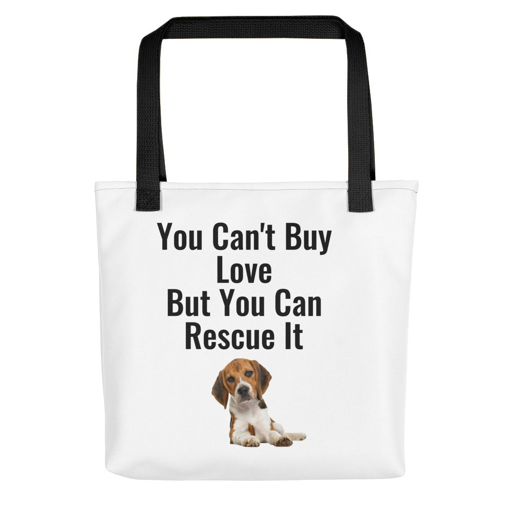 """You Can't Buy Love"" Tote bag"